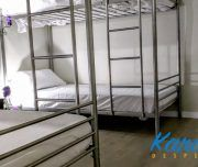 Camas literas en Hostel Paradise