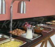 Desayuno buffet en el Hotel Goya
