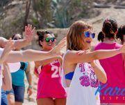 Bailes con coreografías en una despedidas en Alicante