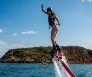 Flyboard en el mar de Alicante