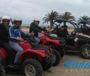 Excursión en quads en Alicante