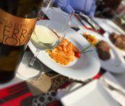 una de las cenas que puedes disfrutar con Despedidas Karamba