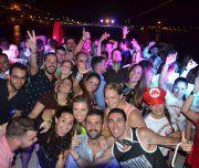 despedida en barco por Alicante de noche