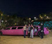 Alquilar limusina rosa en Alicante