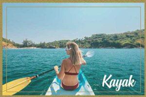Excursión en Kayak por la costa de Alicante